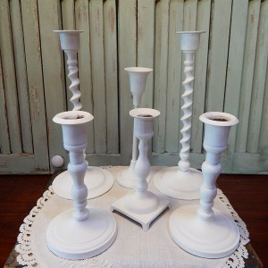6 candle holders