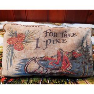 Frontiertown pillow