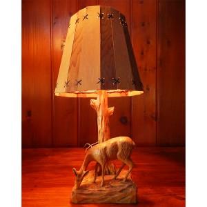 deer lamp
