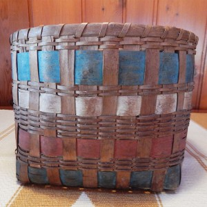 native-made wood splint basket
