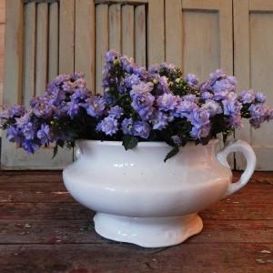 Antique ceramic planter