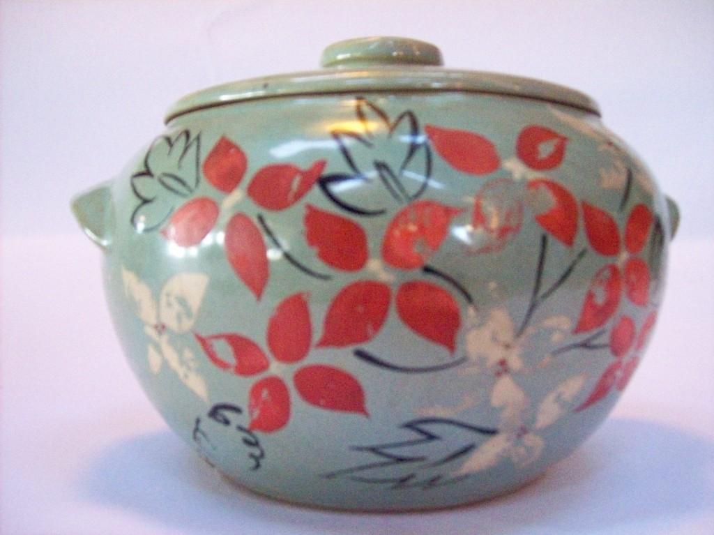 Hand-Painted Cookie Jar