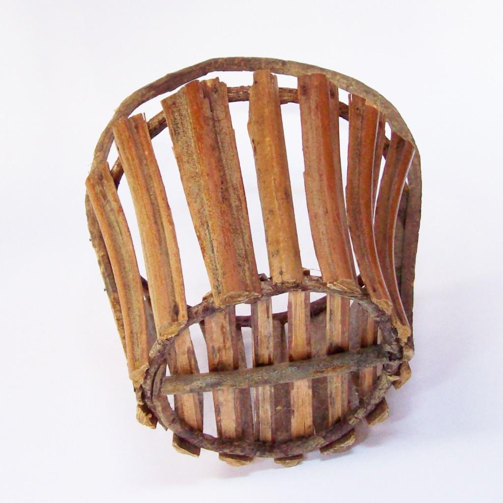 Adirondack-Style Bent Wood Basket