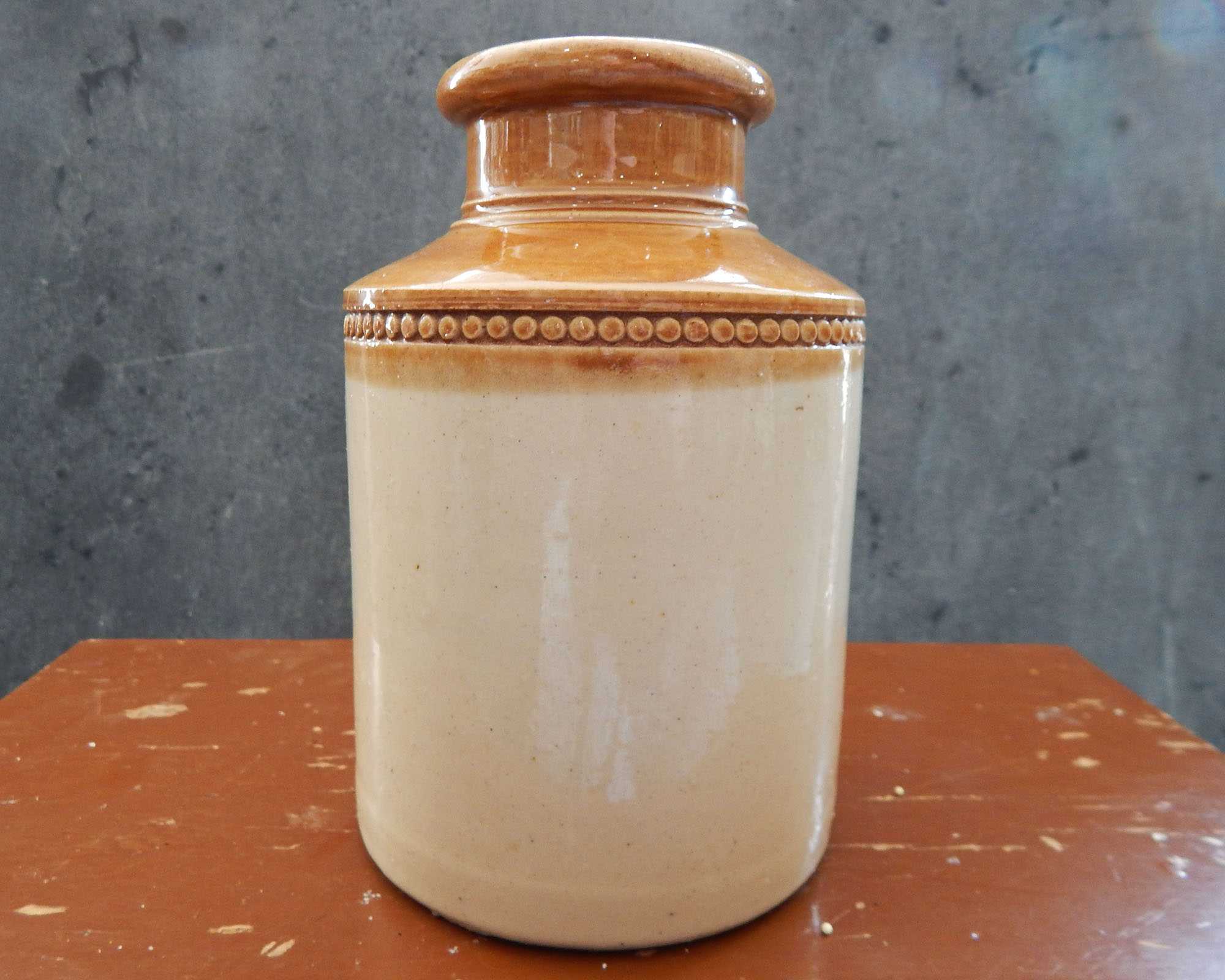 Antique Bristol Stoneware Crock
