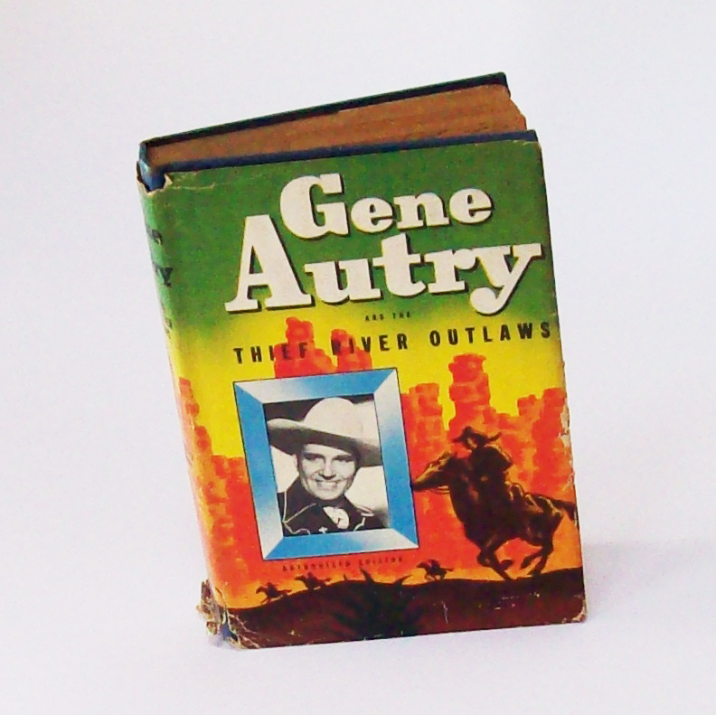Vintage Gene Autry Children's Book