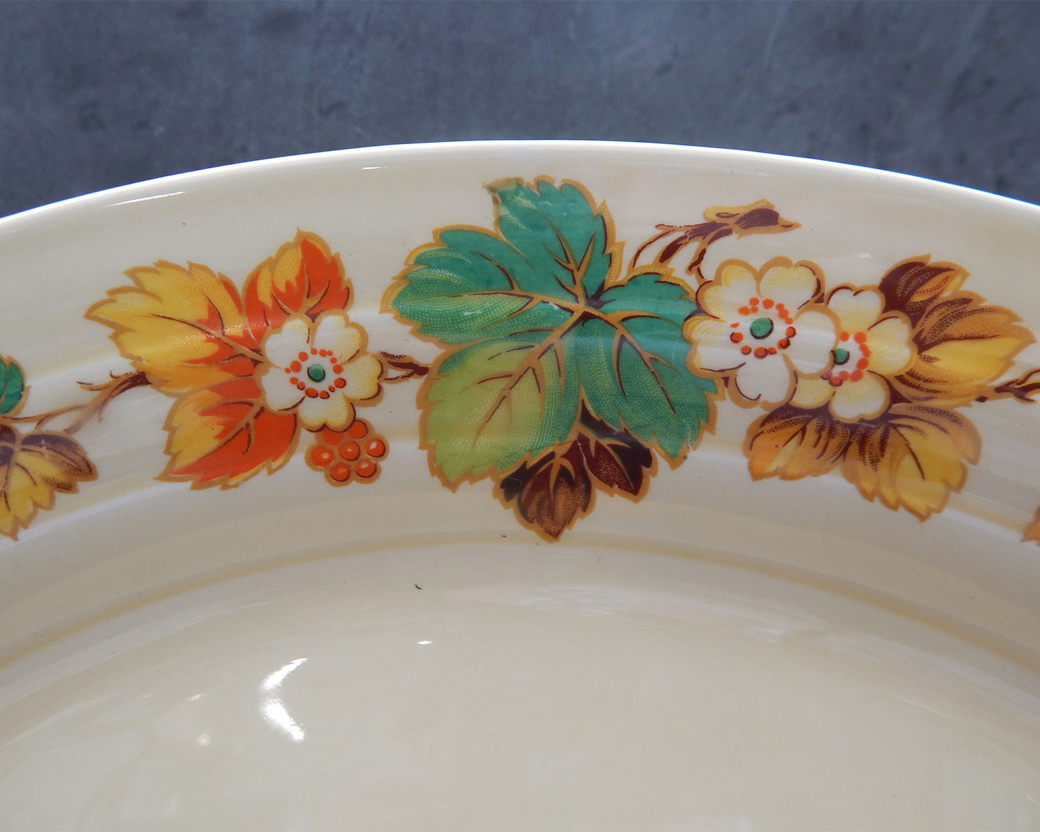 Vintage Grindley Autumn Platter