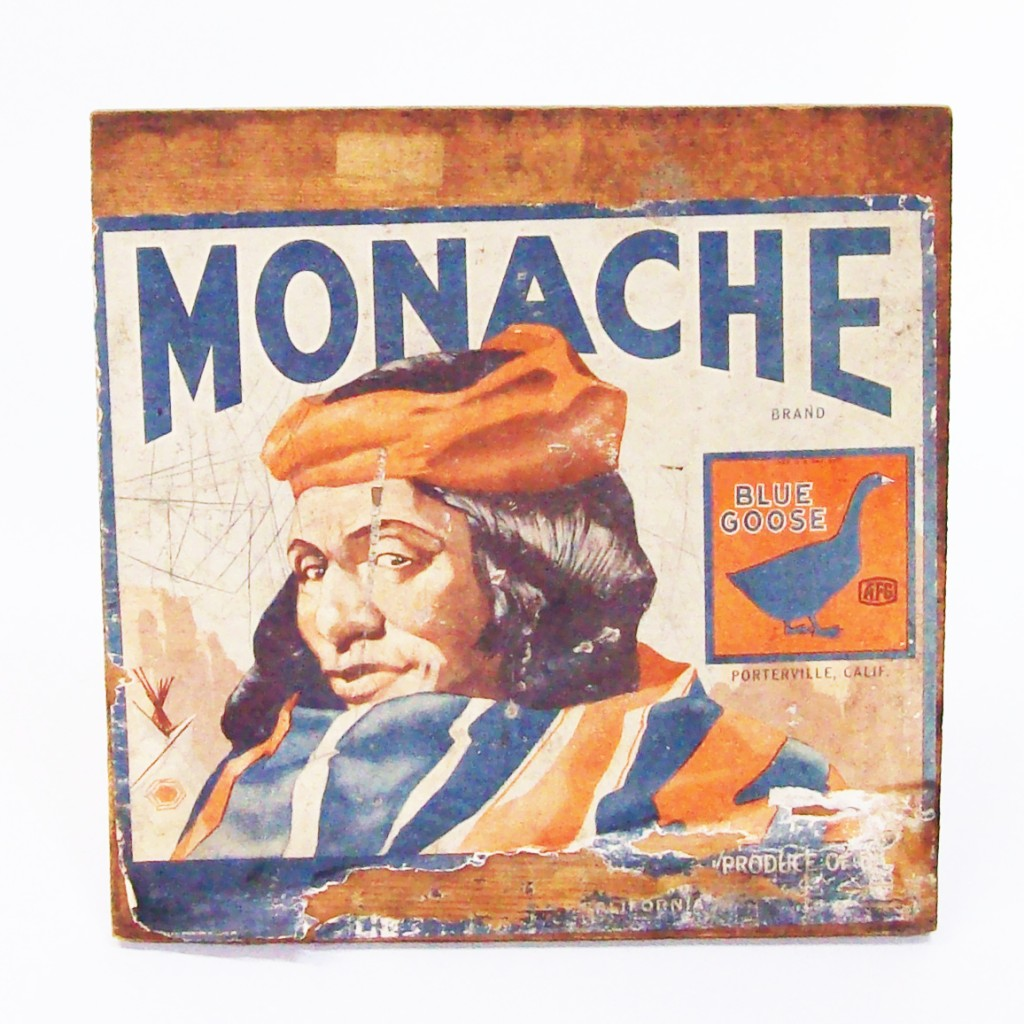 Vintage Orange Crate Label