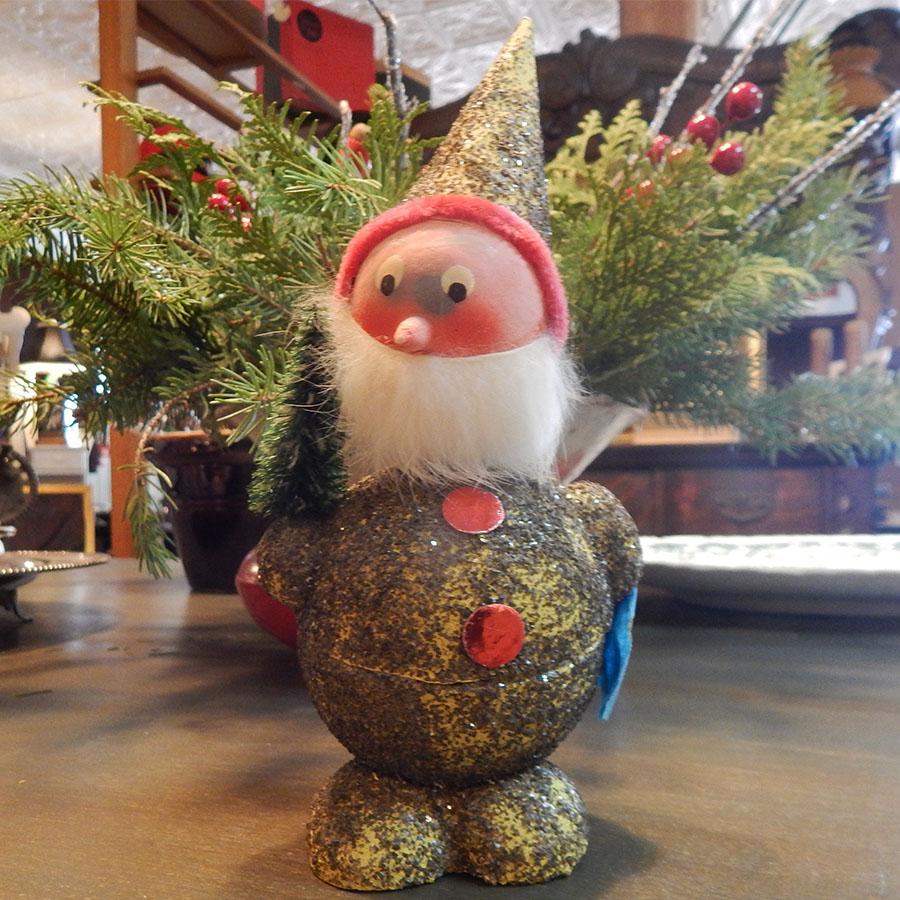 Vintage German Bobblehead Elf