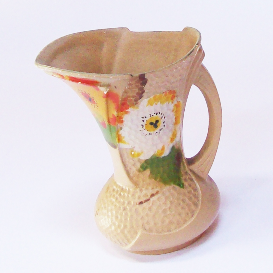 Hand-Painted Pitcher