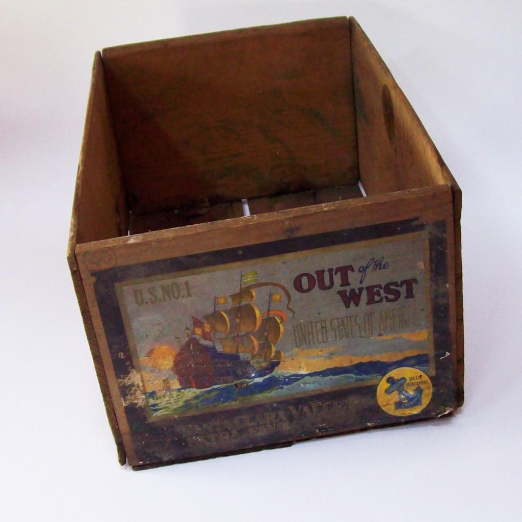 Vintage Pear Crate