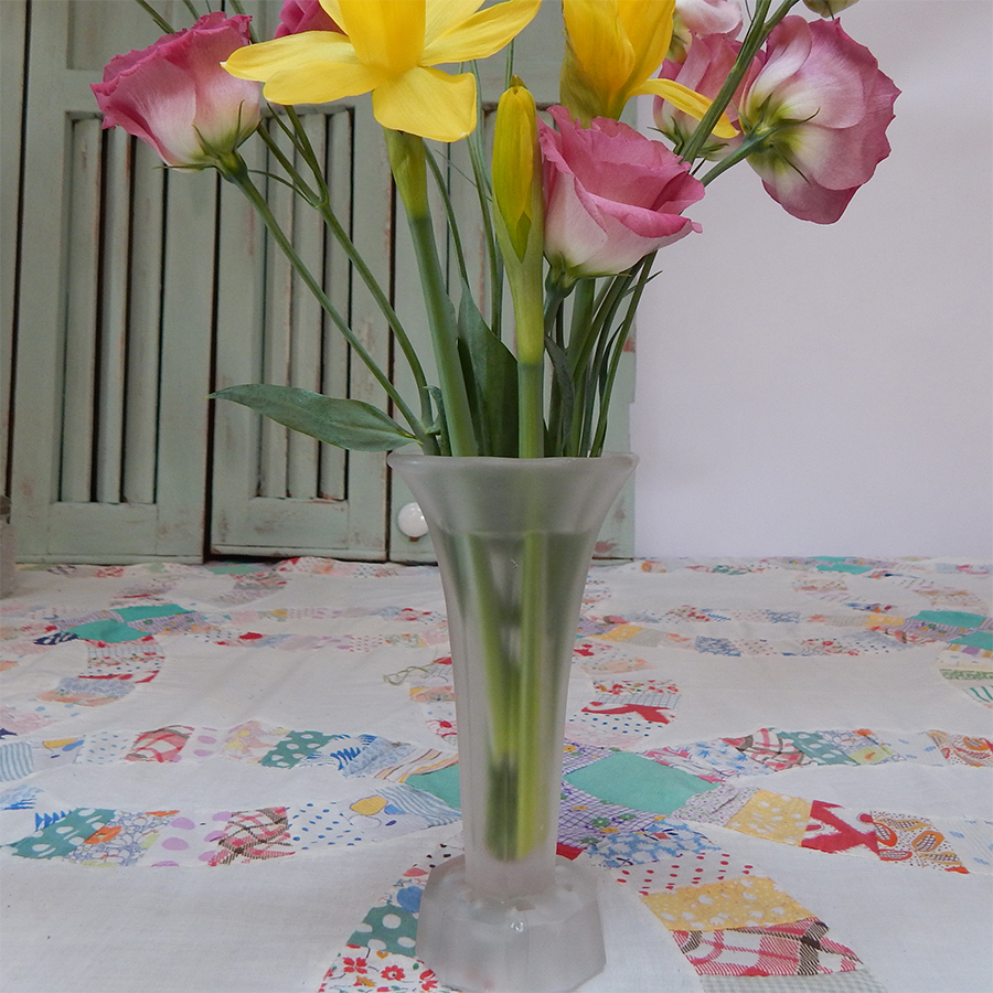 Satin Glass Vase